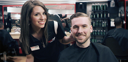 Sport Clips Haircuts of Sunnyvale - Cherry Orchard  Haircuts