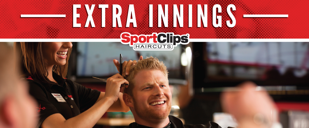 The Sport Clips Haircuts of Sunnyvale - Cherry Orchard  Extra Innings Offerings
